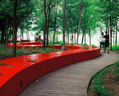 red ribbon park turen landscape